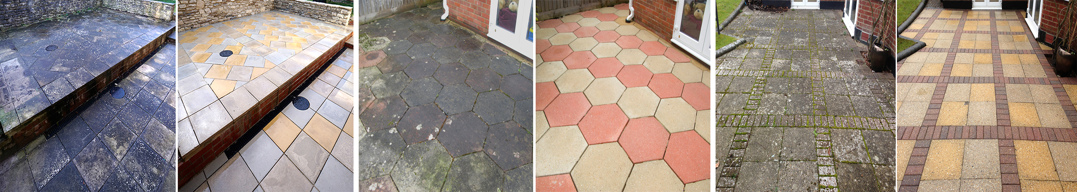 Patio Cleaning Services in New Milton, Hampshire